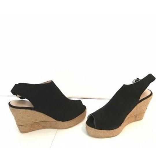 Karen Millen Black Wedges