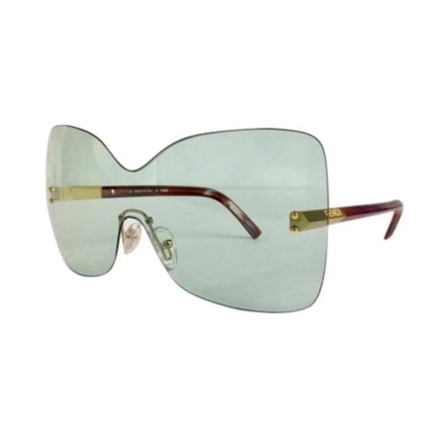 Fendi Gold Fs5273 Runway 513 Havana Sunglasses Fendi Gold Fs5273 Runway 513 Havana Sunglasses Image 1