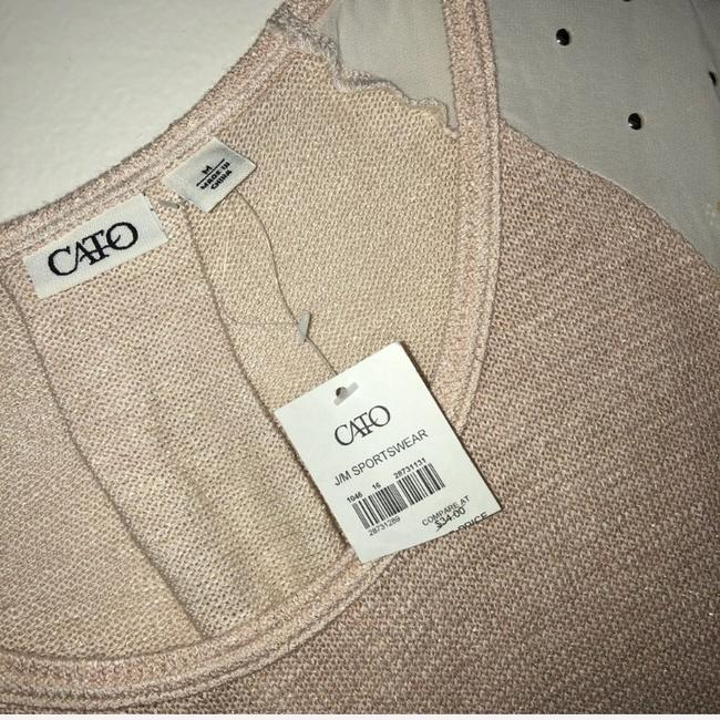 Cato Top pink, cream