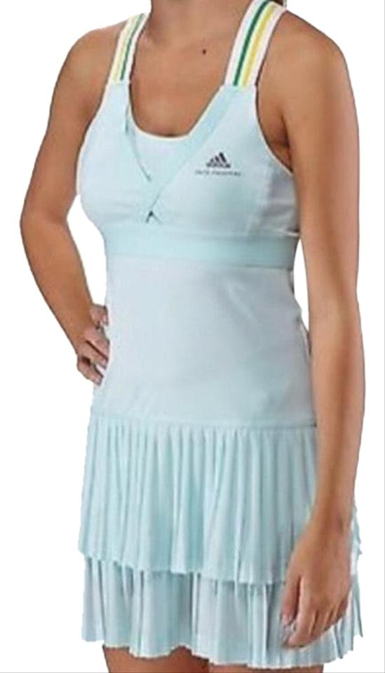 c5859fbfb28 adidas By Stella McCartney Blue Barricade Dress Activewear Sportswear