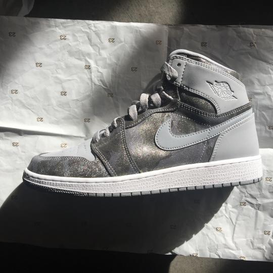 Preload https://img-static.tradesy.com/item/24297659/air-jordan-wolf-graymetallic-silver-featuring-camouflage-nike-1-retro-youth-hi-premium-gg-sneakers-s-0-2-540-540.jpg