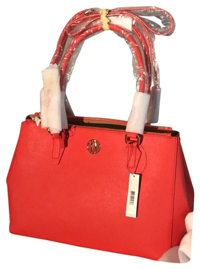 Preload https://img-static.tradesy.com/item/24297686/dkny-bryant-park-plain-red-saffiano-leather-satchel-0-3-540-540.jpg