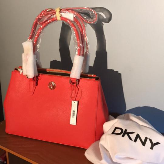 DKNY Satchel in Red