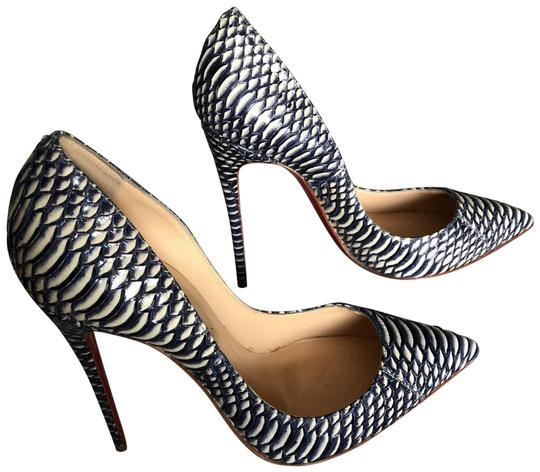 Preload https://img-static.tradesy.com/item/24297711/christian-louboutin-bluewhite-pigalle-follies-120mm-watersnake-rocaille-pumps-size-eu-38-approx-us-8-0-5-540-540.jpg