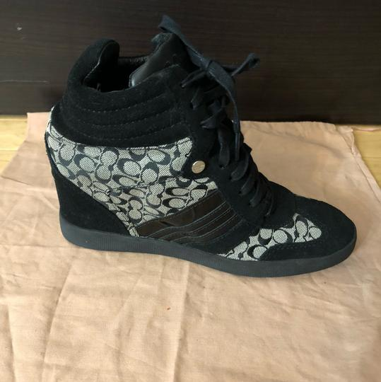Coach Coachsneakers Wedgedsneakers Monogramedshoes Athletic