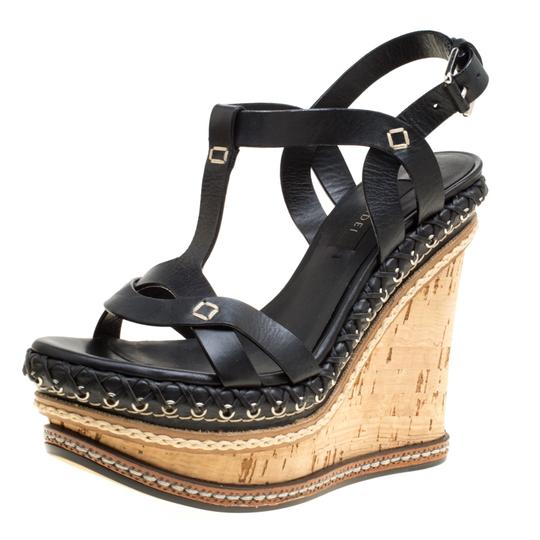 Preload https://img-static.tradesy.com/item/24297731/casadei-black-leather-cork-wedge-t-strap-sandals-size-eu-35-approx-us-5-regular-m-b-0-0-540-540.jpg