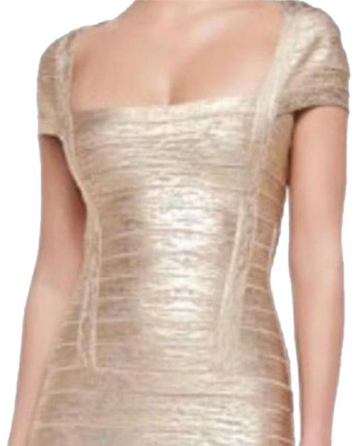Preload https://img-static.tradesy.com/item/24297735/herve-leger-gold-gown-long-casual-maxi-dress-size-0-xs-0-7-650-650.jpg