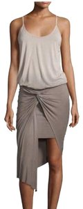 Young Fabulous & Broke short dress olive green and grey on Tradesy