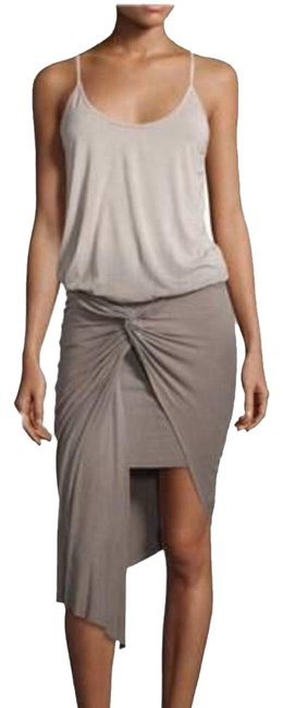 Preload https://img-static.tradesy.com/item/24297744/young-fabulous-and-broke-olive-green-and-grey-kulani-sleeveless-ombre-twist-short-casual-dress-size-0-3-650-650.jpg