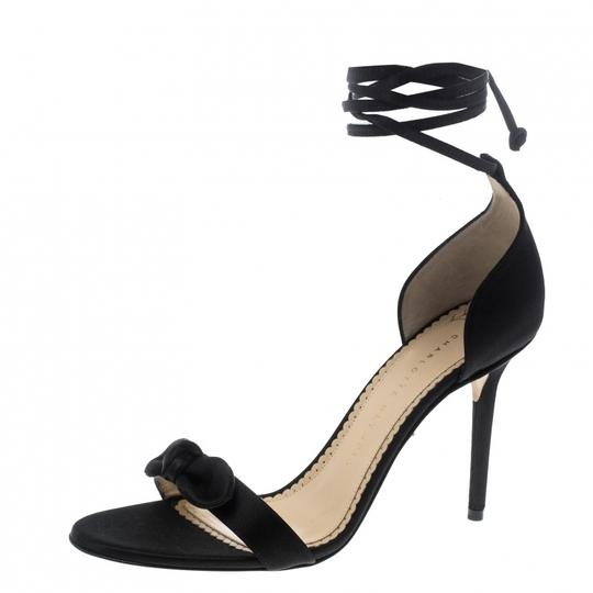 Preload https://img-static.tradesy.com/item/24297755/charlotte-olympia-black-satin-shelley-bow-embellished-ankle-wrap-sandals-size-eu-385-approx-us-85-re-0-0-540-540.jpg