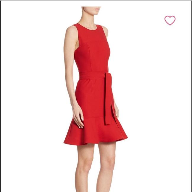 Cinq à Sept short dress red on Tradesy