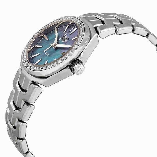 TAG Heuer Tag Heuer Link Blue Mother of Pearl Diamond Dial Ladies Watch WBC1315.