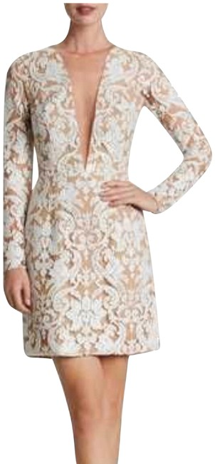 Preload https://img-static.tradesy.com/item/24297786/dress-the-population-white-nude-claudia-plunging-illusion-sequin-lace-minidress-short-cocktail-dress-0-3-650-650.jpg