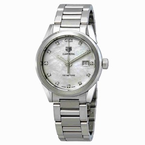 TAG Heuer Tag Heuer Carrera Diamond Mother of Pearl Dial Ladies Watch WBG1312.BA