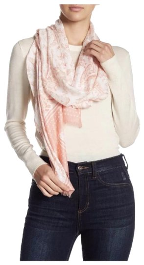 Preload https://img-static.tradesy.com/item/24297792/rebecca-minkoff-pink-ornament-paisley-oblong-fringe-scarfwrap-0-3-540-540.jpg