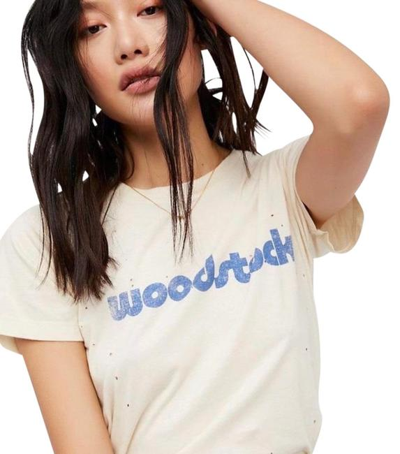 Preload https://item5.tradesy.com/images/daydreamer-white-woodstock-tee-shirt-size-12-l-24297794-0-3.jpg?width=400&height=650