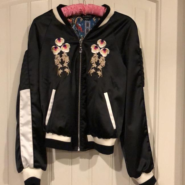 Preload https://img-static.tradesy.com/item/24297816/too-cute-embroidered-with-roses-jacket-size-8-m-0-0-650-650.jpg