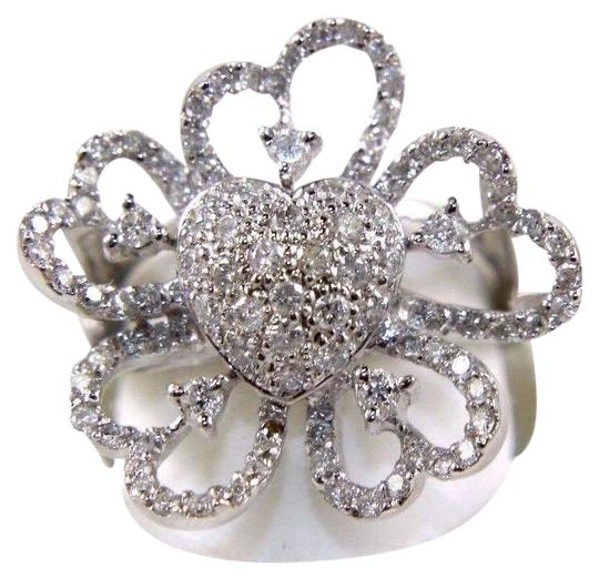 Preload https://img-static.tradesy.com/item/24297848/white-and-silver-pave-cluster-heart-solitaire-filigree-diamond-14k-wg-100ct-ring-0-1-540-540.jpg