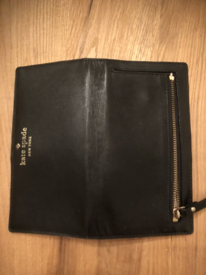 Kate Spade Kate Spade Black Leather Stacey Wallet