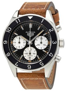 TAG Heuer Tag Heuer Heritage Chronograph Black Dial Men's Watch CBE2110.FC8226