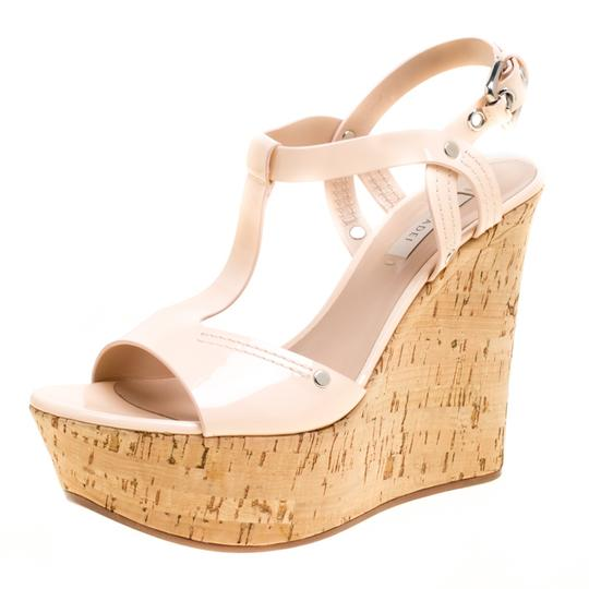 Preload https://img-static.tradesy.com/item/24297906/casadei-pink-pale-patent-leather-cork-wedge-t-strap-sandals-size-eu-41-approx-us-11-regular-m-b-0-0-540-540.jpg