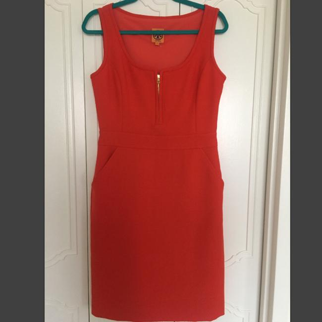 Preload https://img-static.tradesy.com/item/24297909/tory-burch-red-zachary-mid-length-workoffice-dress-size-6-s-0-4-650-650.jpg