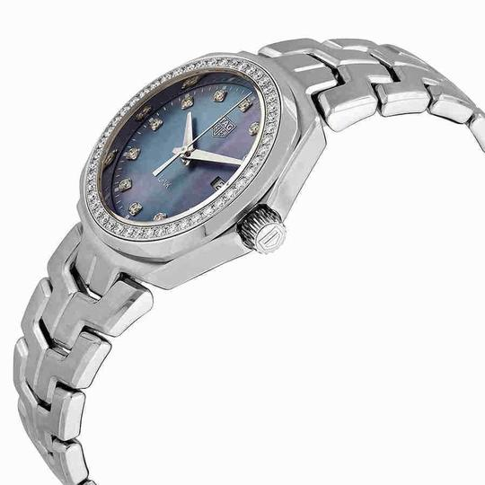 TAG Heuer Tag Heuer Link Blue Mother of Pearl Diamond Dial Ladies Watch WBC1319.