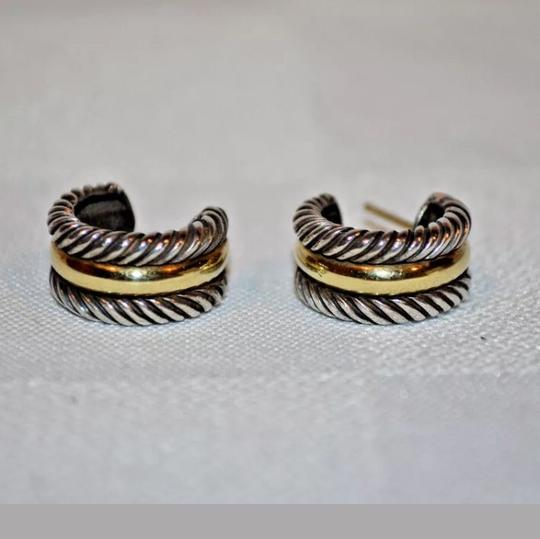 Preload https://img-static.tradesy.com/item/24297917/david-yurman-silver-and-gold-925-cable-collectibles-hoop-earrings-0-2-540-540.jpg