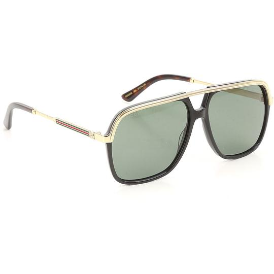 Preload https://img-static.tradesy.com/item/24297962/gucci-black-new-gg0200s-0200s-gold-square-aviator-unisex-sunglasses-0-0-540-540.jpg