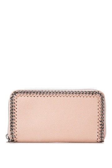 Preload https://img-static.tradesy.com/item/24297966/stella-mccartney-shaggy-deer-long-zip-around-beige-faux-leather-wallet-0-0-540-540.jpg