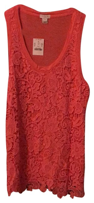 Item - Coral Crochet Tank Top/Cami Size 0 (XS)