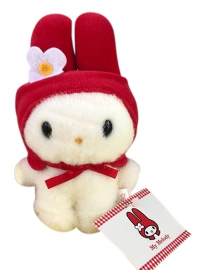 Preload https://img-static.tradesy.com/item/24297999/sanrio-white-red-my-melody-small-plush-collectible-0-1-540-540.jpg