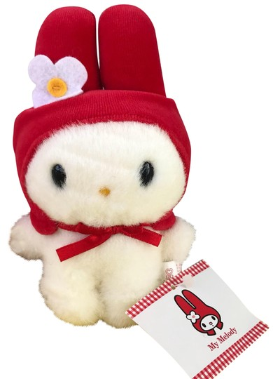 Preload https://img-static.tradesy.com/item/24297999/sanrio-white-red-my-melody-small-plush-collectible-0-3-540-540.jpg