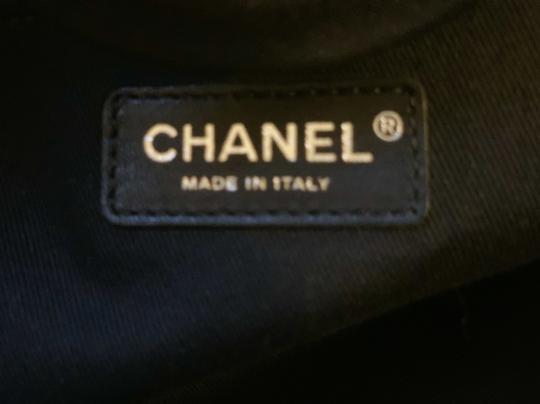 Chanel Limited Edition Charcoal Travel Bag