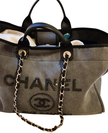 Preload https://img-static.tradesy.com/item/24298027/chanel-deauville-limited-edition-large-sequin-tote-charcoal-canvas-weekendtravel-bag-0-4-540-540.jpg