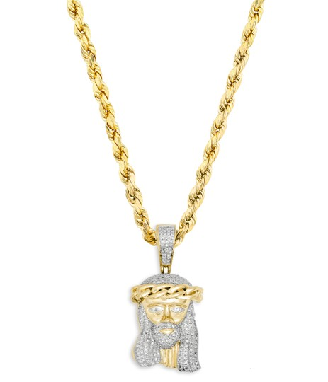 Preload https://img-static.tradesy.com/item/24298057/yellow-gold-10k-40ct-diamond-jesus-piece-pendant-10k-24-rope-chain-necklace-0-0-540-540.jpg