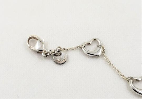 Tiffany & Co. Tiffany & Co. Sterling Silver Elsa Peretti Heart Bracelet 5.14g