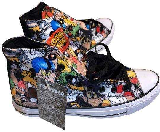 Preload https://img-static.tradesy.com/item/24298093/converse-red-yellow-black-white-and-blue-looney-tunez-sneakers-size-us-8-regular-m-b-0-3-540-540.jpg