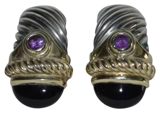 Preload https://img-static.tradesy.com/item/24298096/david-yurman-silver-and-golf-925-cable-renaissance-amethyst-clip-on-earrings-0-3-540-540.jpg