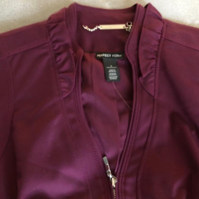 White House | Black Market Burgundy Blazer