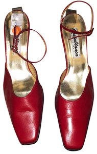 Casablanca Red Pumps