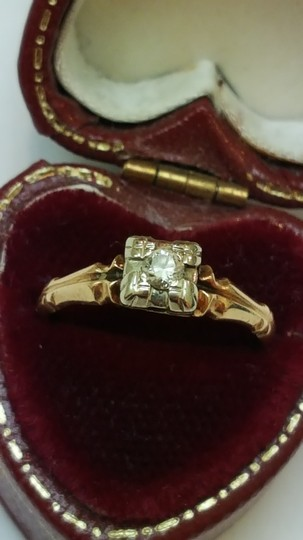 Preload https://img-static.tradesy.com/item/24298132/art-deco-k-and-p-design-14kt-yellow-gold-15ct-diamond-ring-0-2-540-540.jpg