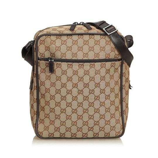 Preload https://img-static.tradesy.com/item/24298166/gucci-guccissima-crossbody-brown-fabric-x-canvas-x-leather-x-others-shoulder-bag-0-0-540-540.jpg