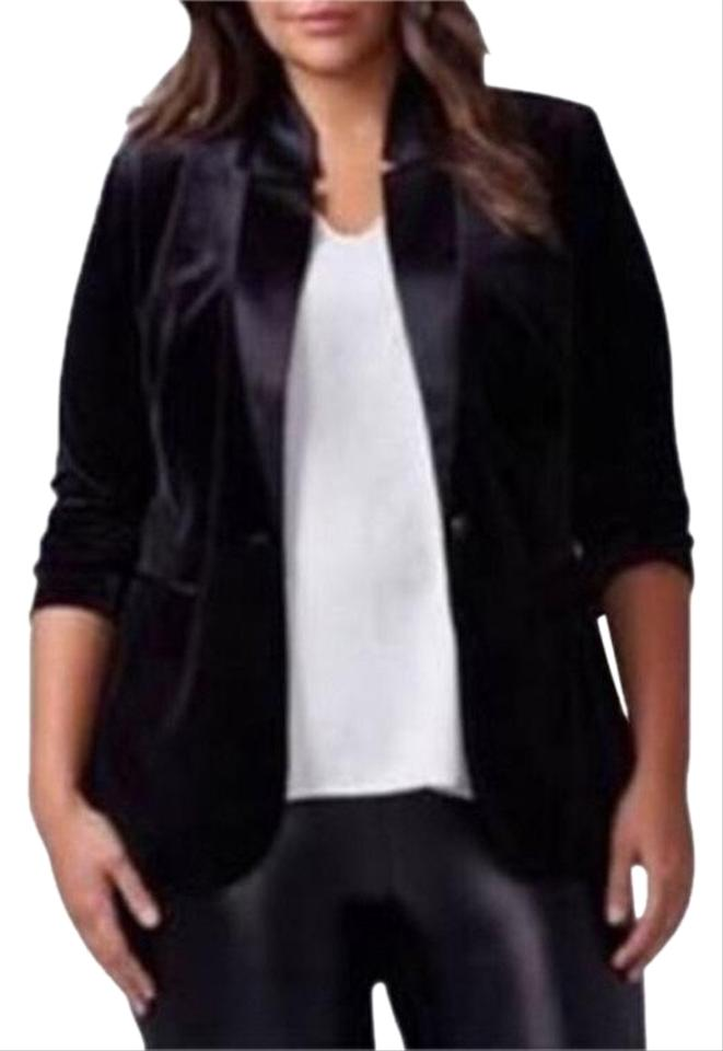 214bb8851be Lane Bryant Black Blazer Size 20 (Plus 1x) - Tradesy