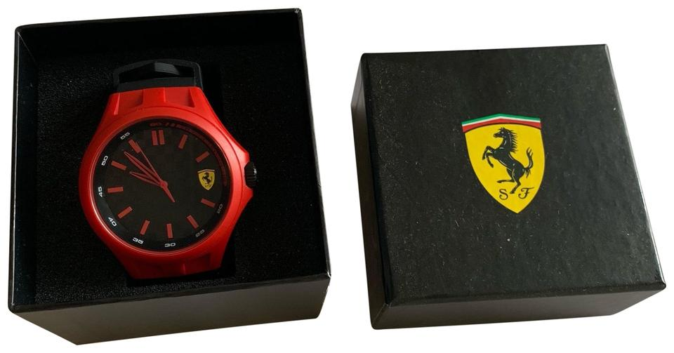 Ferrari Red Black Watch - Tradesy b2f4bea664731