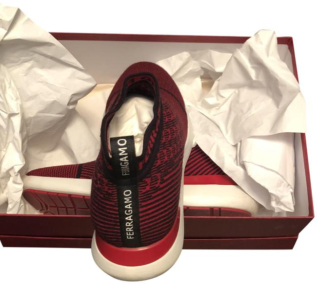 Item - Red and Black Slip On Sneakers Size EU 37 (Approx. US 7) Regular (M, B)