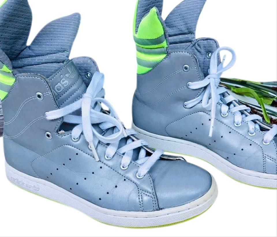 new styles dd511 5ce1c adidas Stan Smith Trefoil High Tops Sneakers Size US 6.5 Regular (M, B)