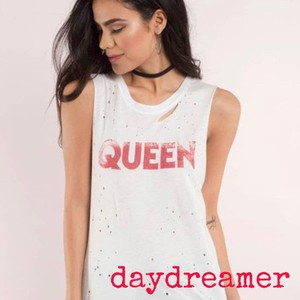 DAYDREAMER Top white