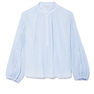 APIECE APART Top Blue Stripe
