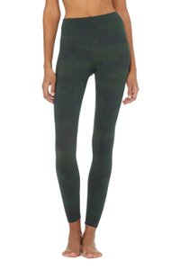 Alo HIGH-WAIST CAMO VAPOR LEGGING